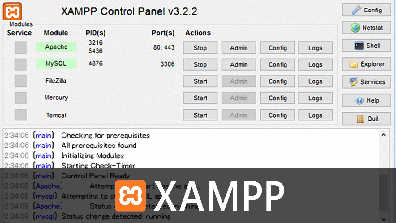 NetBeansでの開発とテストにXAMPPを使うための設定